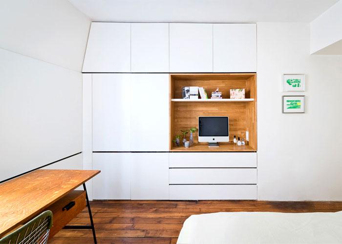 small space parisian apartment 5