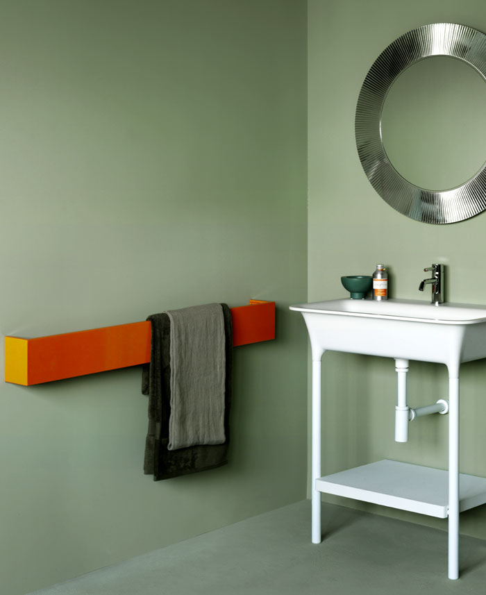 square bathroom radiators ludovica roberto palomba 1