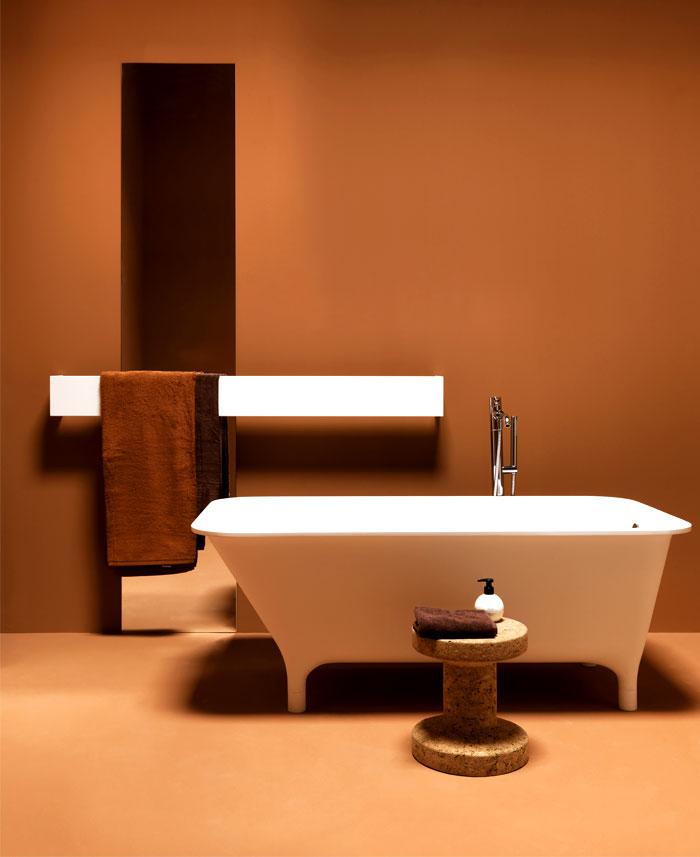 square bathroom radiators ludovica roberto palomba