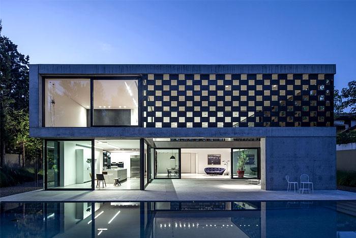 israeli studio pitsou kedem corten house 14
