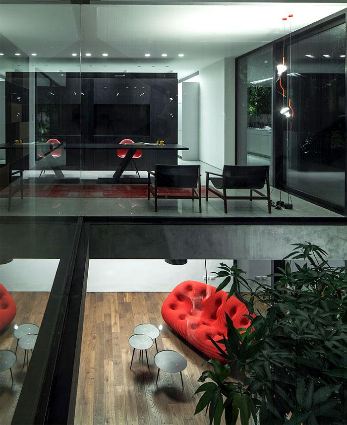 israeli studio pitsou kedem corten house 19