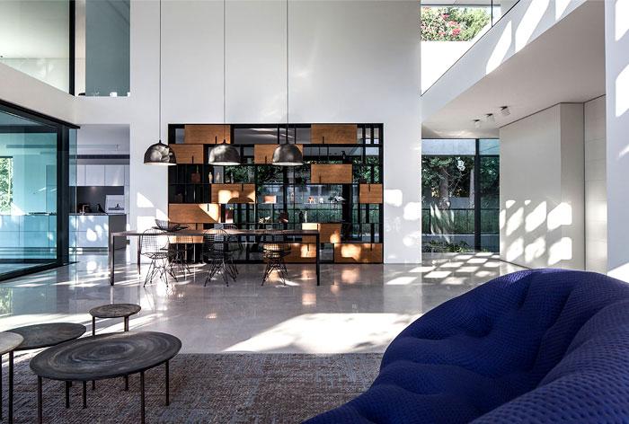 israeli studio pitsou kedem corten house 8