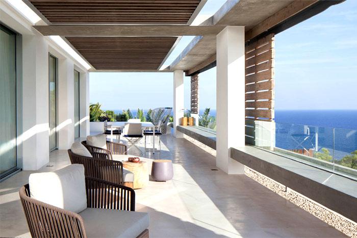 Modern Spanish Interior Design.Spanish Style Modern Villa In Ibiza Interiorzine