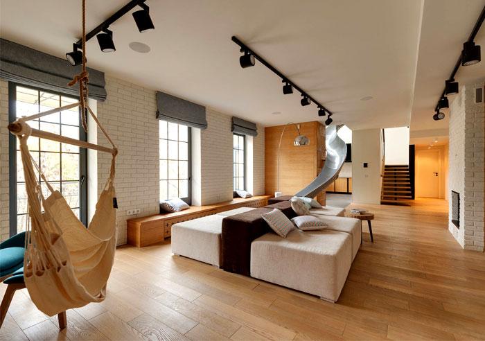 two level apartment ki design 7