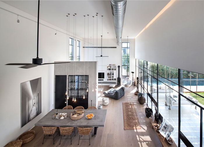 l shaped house functional interior 14