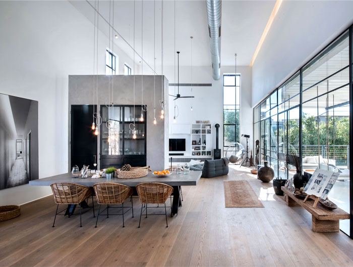 l shaped house functional interior 22