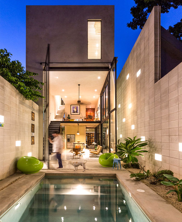 Modern Mexican House Located In Yucatan Interiorzine