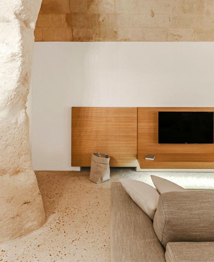 cave decor hotel matera 17