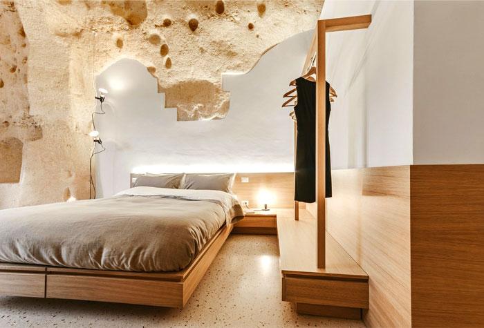 cave decor hotel matera 22
