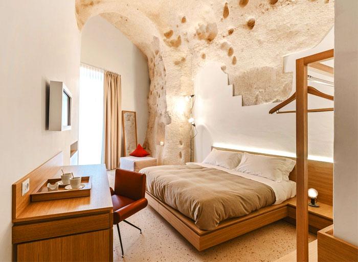 cave decor hotel matera 25