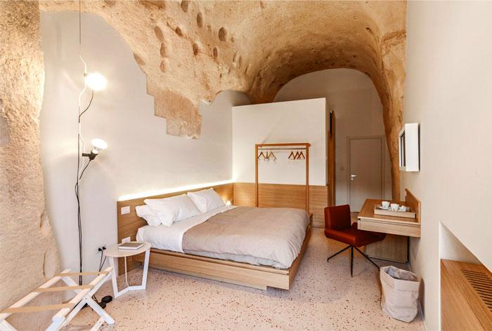 cave decor hotel matera 27