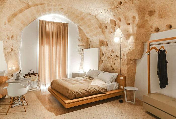 cave decor hotel matera 5