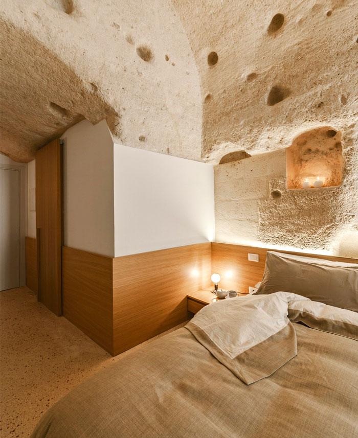 cave decor hotel matera 7