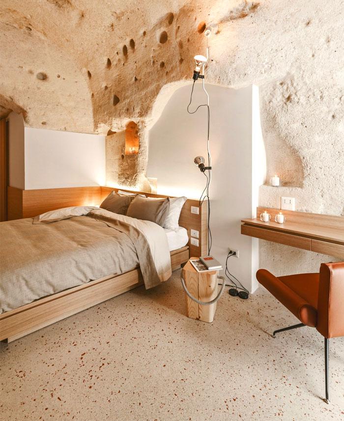 cave decor hotel matera 8