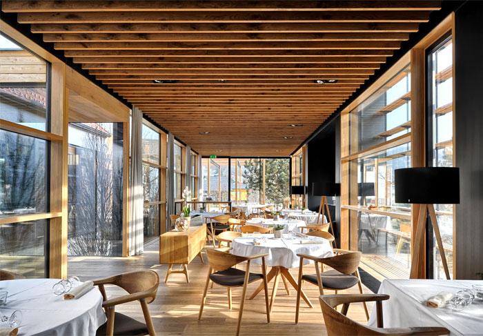 extension house denk restaurant ab objekt 1