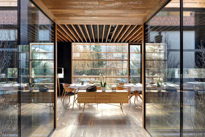 extension house denk restaurant ab objekt 2