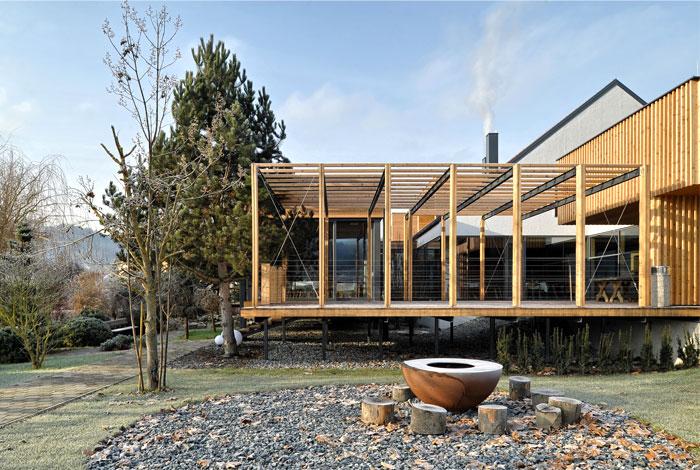 extension house denk restaurant ab objekt 4