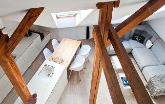 beautiful attic apartment 338x212
