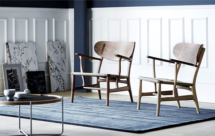 hans j wegner lounge chair 12