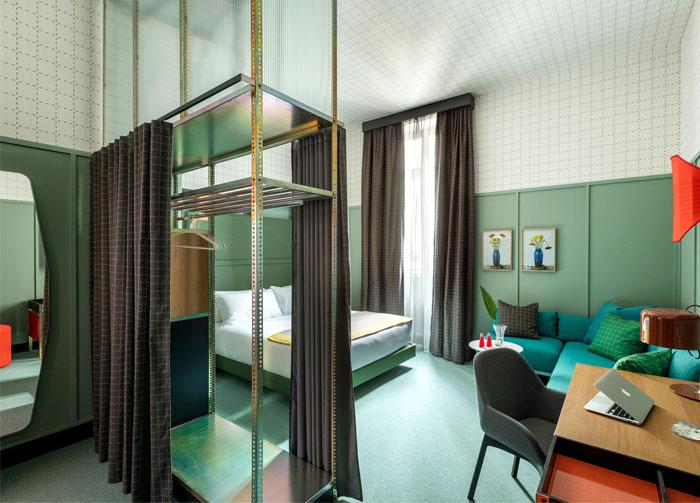 new milan hotel room mate giulia 9