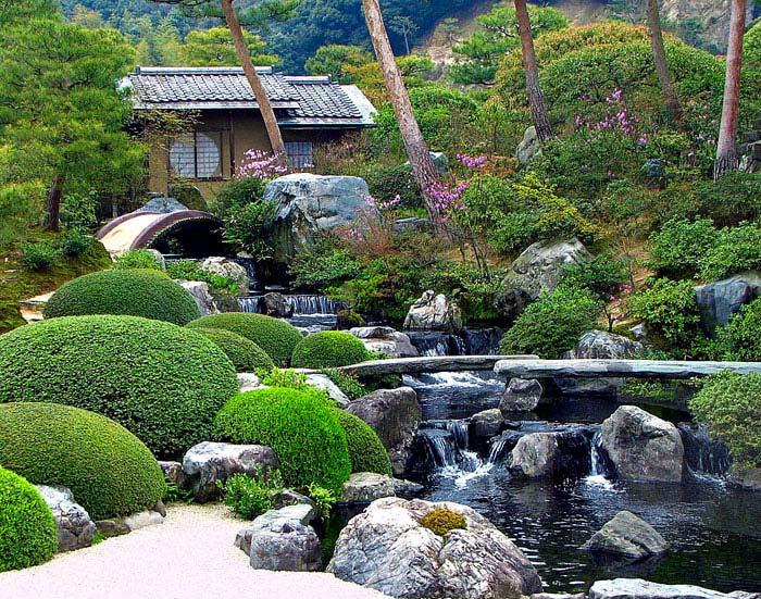 adachi museum of art shimane stone bridge river