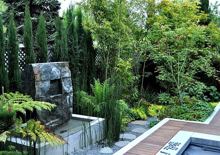 contemporary backyard design ideas