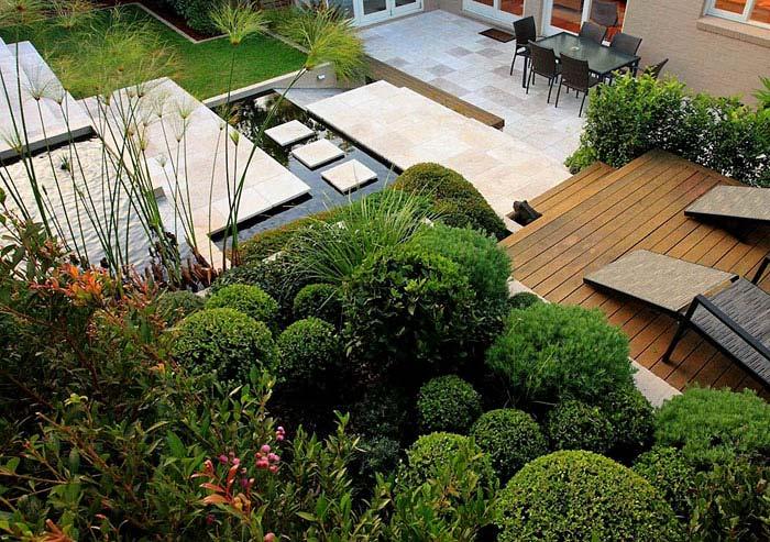 modern zen inspired landscape architecture