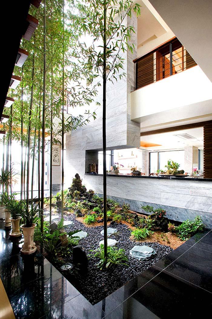 p house hahn design inner garden