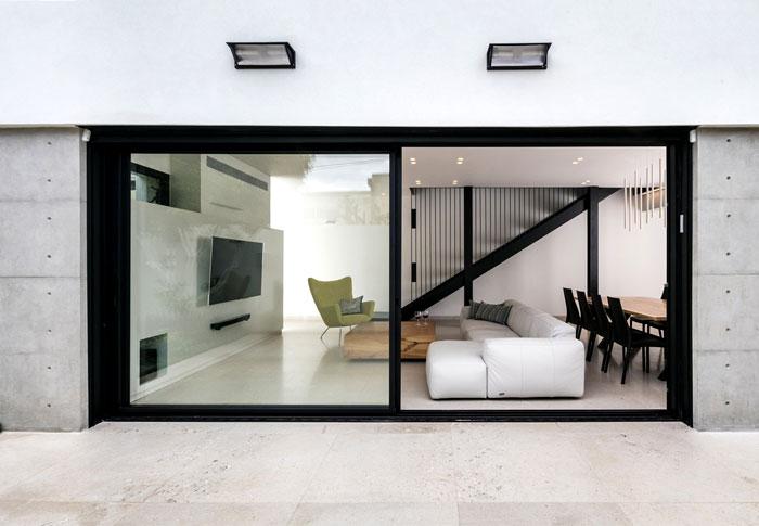 semi detached house remodeled amitzi architects 2