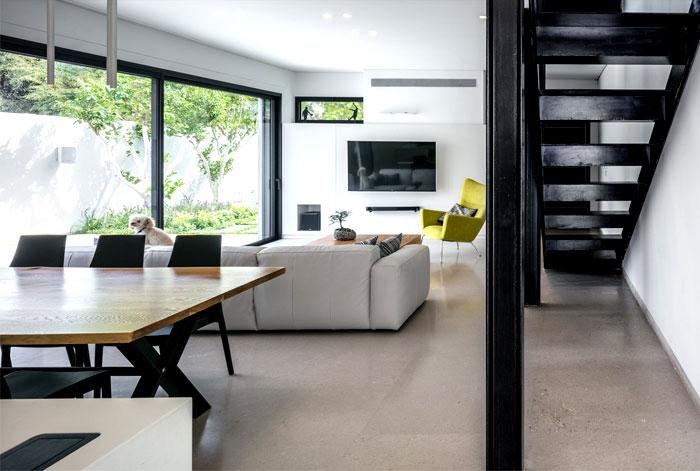 semi detached house remodeled amitzi architects 8