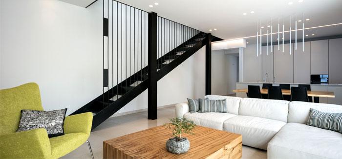 semi detached house remodeled amitzi architects 9