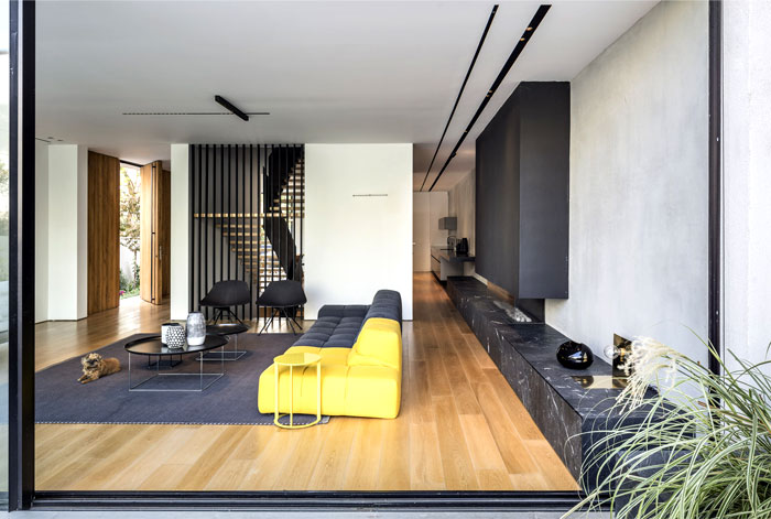 levin packer architects urban house 13