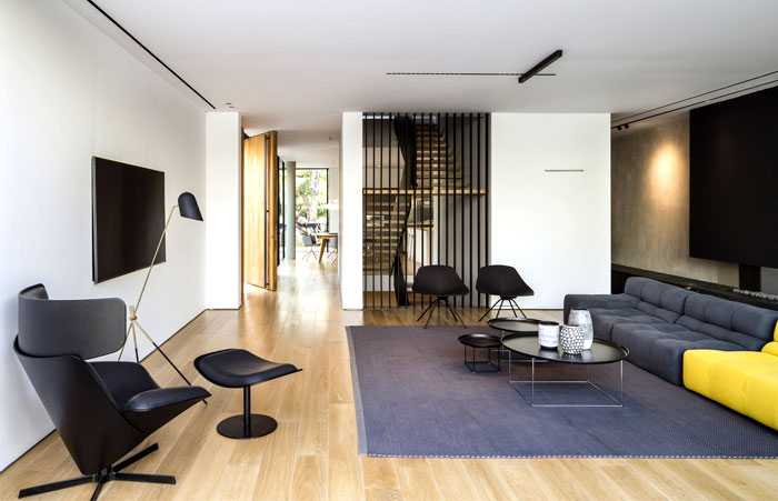 levin packer architects urban house 14