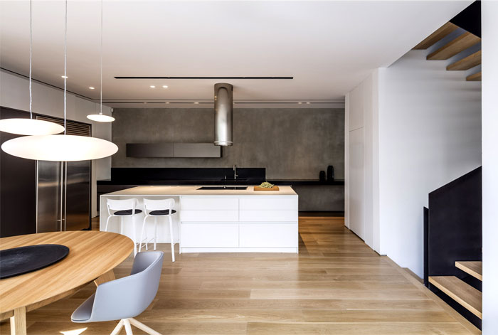levin packer architects urban house 16