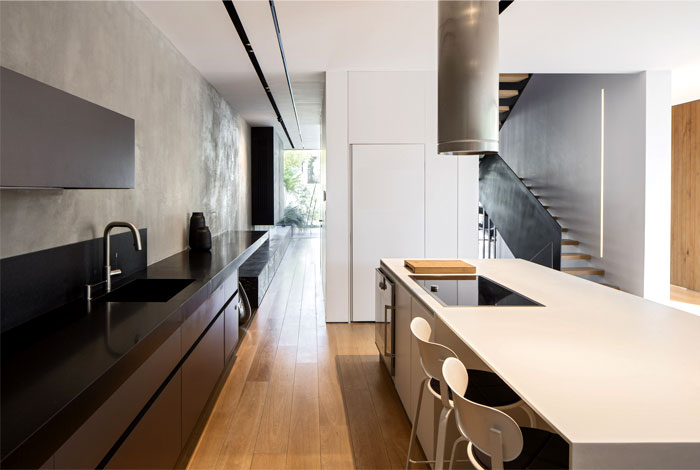 levin packer architects urban house 17