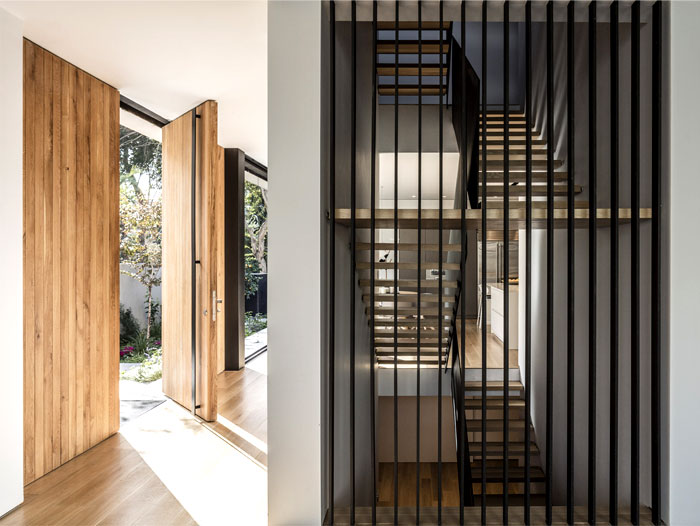 levin packer architects urban house 20