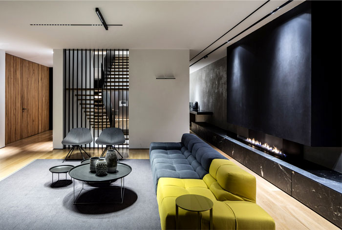 levin packer architects urban house 7