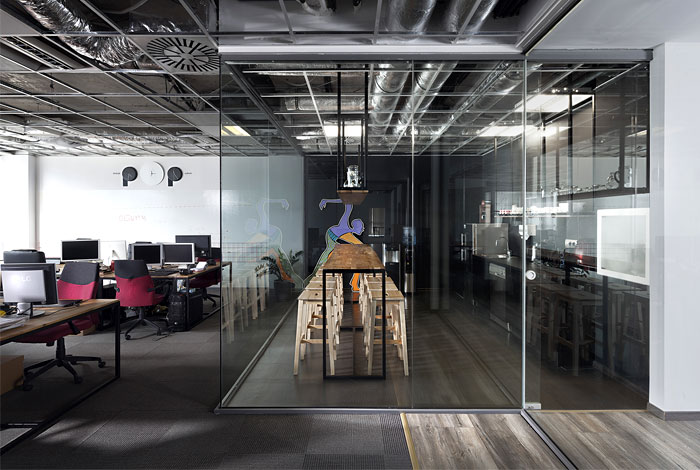 advertising agency office cache atelier 11