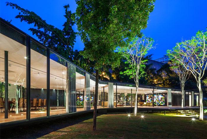 beautiful garden glass pavilion 13