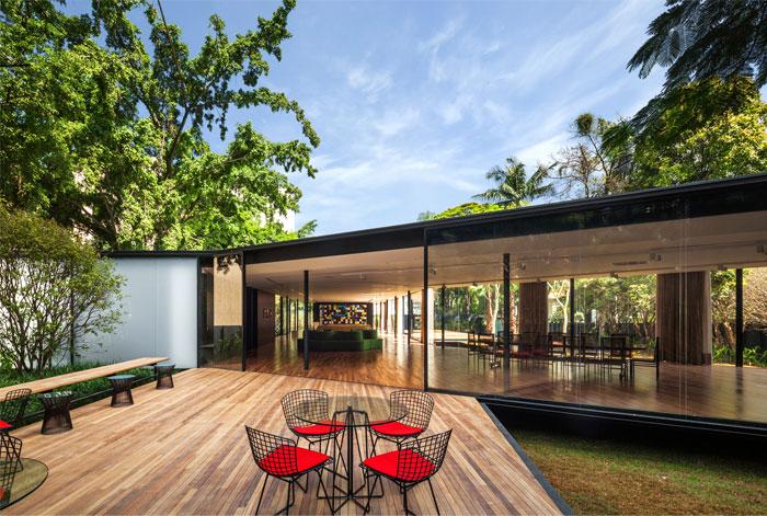 beautiful garden glass pavilion 5