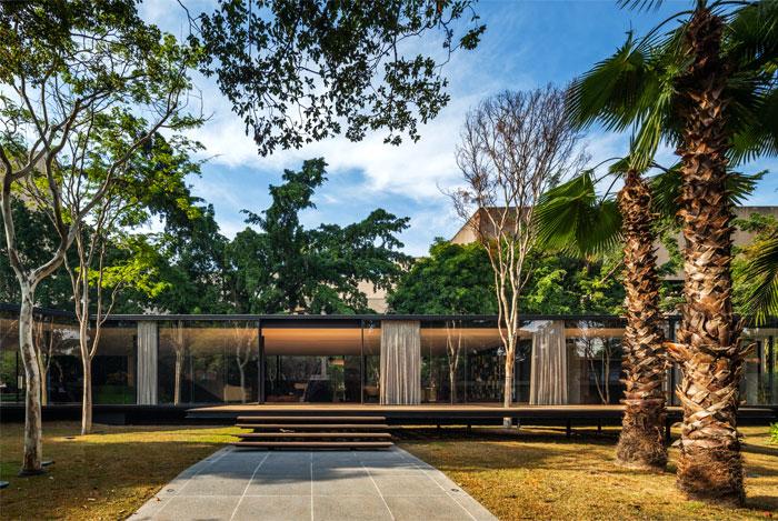beautiful garden glass pavilion 8