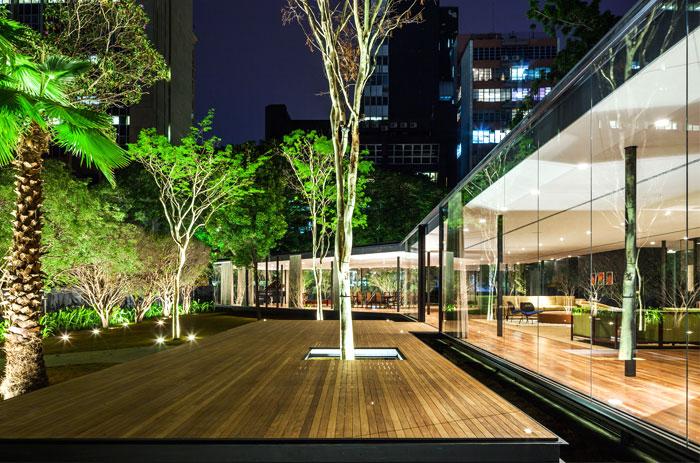 beautiful garden glass pavilion 9