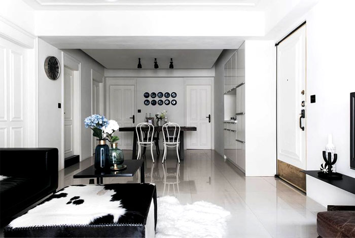 scandinavian style apartment remodeled RIS Interior 22