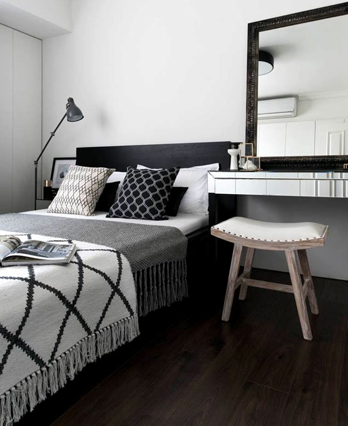 scandinavian style apartment remodeled RIS Interior 6