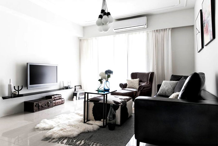 scandinavian style apartment remodeled RIS Interior 8