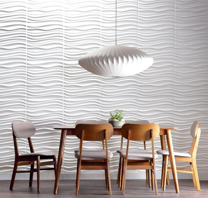 dining room 3d wall panels decor ideas 3