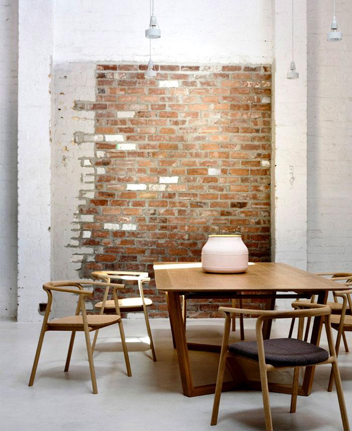 dining room brick walls decor ideas 6