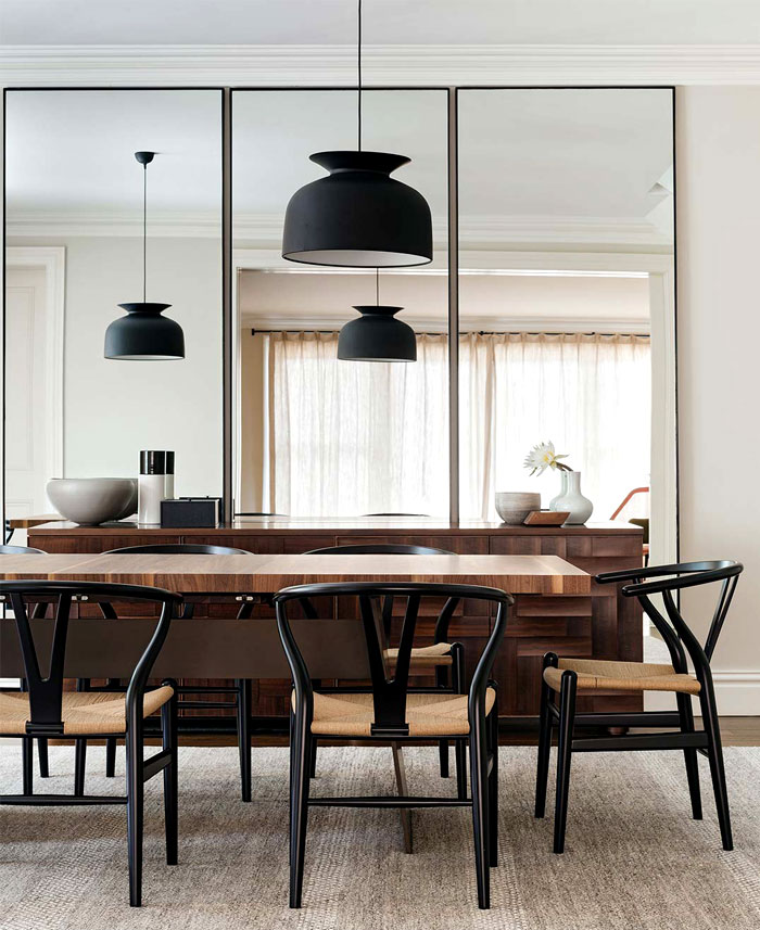 dining room mirror decor ideas 2