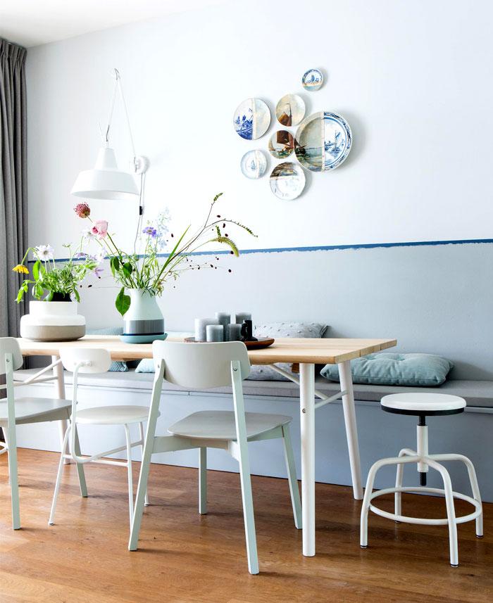 dining room plate wall decor ideas 4