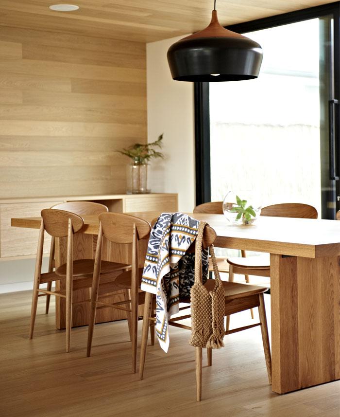 dining room wooden wall decor ideas 1
